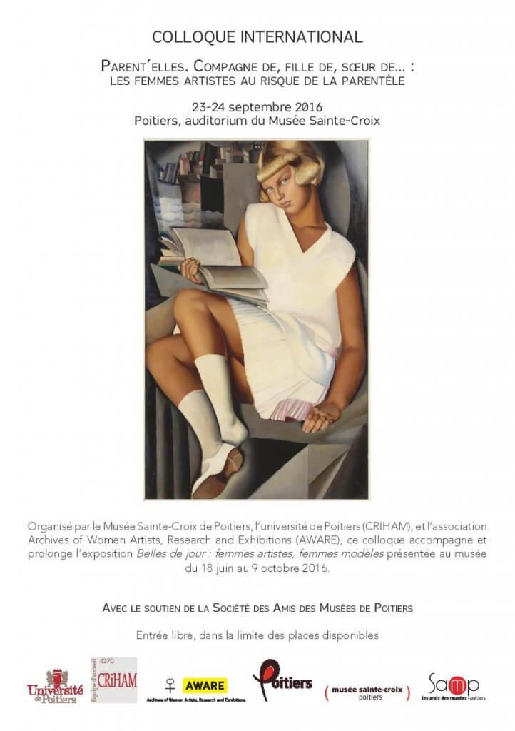 Colloque international – Musée Sainte-Croix à Poitiers